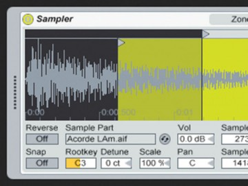 Ableton's Sampler